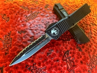 Microtech Combat Troodon Double Edge Full Serrated Tactical