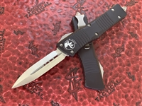 Microtech Combat Troodon Double Edge Satin Standard