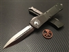 Microtech Combat Troodon Double Edge Satin Standard OD Green