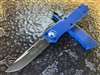 Microtech Combat Troodon Single Edge Standard Blue