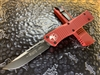 Microtech Combat Troodon Single Edge Standard Red