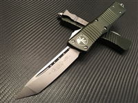 Microtech Combat Troodon Tanto Satin Standard OD Green