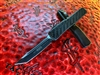 Microtech UTX-70 Tanto Edge Black Standard Carbon Fiber Signature Series