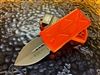 Microtech Exocet Double Edge Apocalyptic Standard Orange