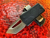 Microtech Exocet Tanto Edge Stonewashed Standard