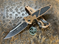 Microtech Socom Elite Single Edge Standard Tan