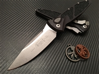 Microtech Socom Elite Auto Single Edge Stonewashed Standard