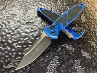 Microtech Socom Elite Auto Single Edge Standard Blue