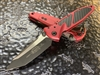 Microtech Socom Elite Manual Tanto Standard Red w/ Carbon Fiber Inlay