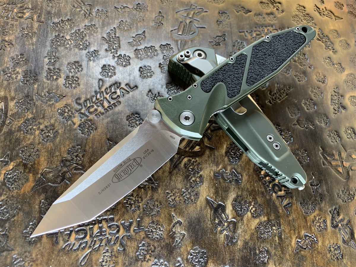 East Canton Village – All Of The Microtech Socom Elite Tanto