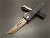 Microtech Signature Series Combat Troodon Hellhound Tanto Bronzed Standard
