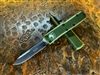 Microtech UTX-85 Single Edge Standard OD Green