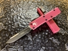 Microtech UTX85 Single Edge Standard Pink