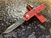 Microtech UTX-85 Single Edge Standard Red