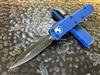 Microtech UTX85 Double Edge Standard Blue