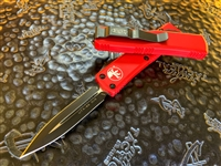 Microtech UTX85 Double Edge Standard Red