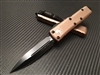 Microtech UTX85 Double Edge Standard Tan