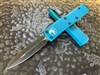 Microtech UTX85 Double Edge Standard Turquoise