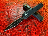 Microtech UTX85 Double Edge Full Serrated Tactical