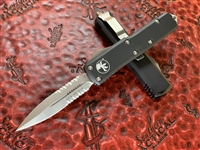 Microtech UTX85 Double Edge Satin Part Serrated