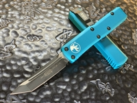 Microtech UTX85 Tanto Standard Turquoise