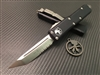 Microtech UTX85 Tanto Satin Part Serrated