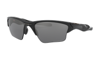 Oakley Half Jacket® 2.0 XL Polished Black w/ Black Iridium Polarized