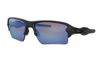 "Oakley Flakâ""¢ 2.0 XL Matte Black w/ Prism Deep Water Polarized"