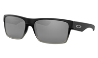 "Oakley TwoFaceâ""¢ Machinist Collection, Matte Black w/ Chrome Iridium"