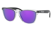 "Oakley FROGSKINSâ""¢ 35TH ANNIVERSARY Polished Clear w/ Prizm Violet"