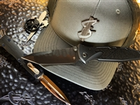 Southern Dagger Trucker Hat by Branded Bills Stealth Edition