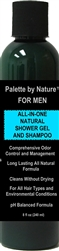 For Men All-in-One All Natural Shower Gel and Shampoo