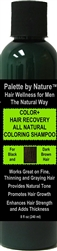 For Men Color + Hair Recovery All Natural Coloring Shampoo for Black and Dark Brown Hair
