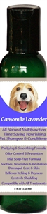 All Natural Time Saving Pet Shampoo & Conditioner Camomile Lavender
