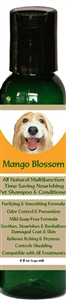 All Natural Time Saving Pet Shampoo & Conditioner Mango Blossom