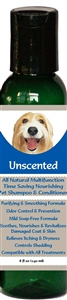 All Natural Time Saving Pet Shampoo & Conditioner Unscented