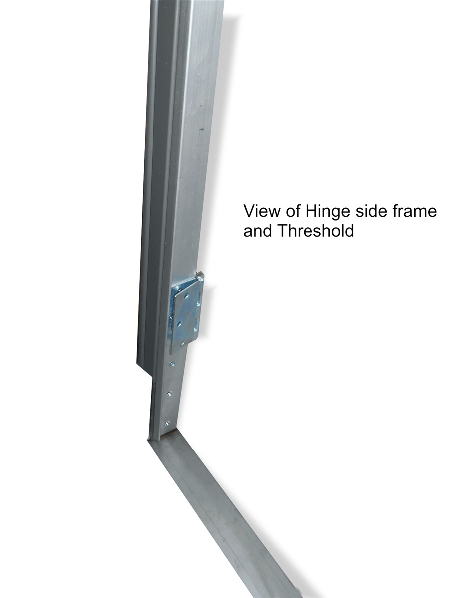 Metal Door Frame Unit for use with AO2 panels. Metal Frame with ...