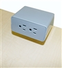 Desk top power module silver