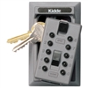 Kidde S5 Pushbutton Keysafe Permanent Lock Box - Titanium