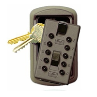 Kidde Push Button Slimline KeySafe