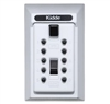 Kidde S5 Pushbutton Keysafe Permanent Lock Box - White