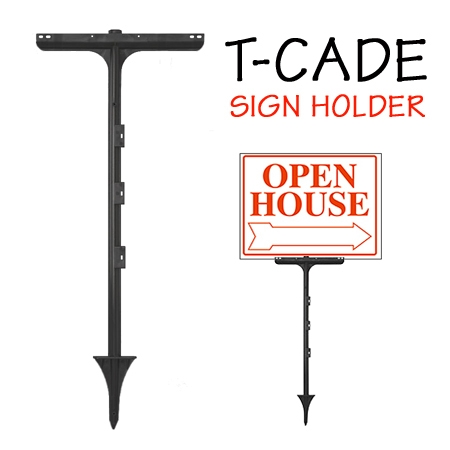 T-cade sign stake by Plasticade