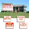 Corrugated real estate sign kit