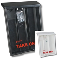 Outdoor Brochure Box & Card Holder