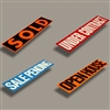 Removable Sign Riders