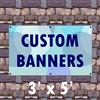 3' x 5 ' Custom Matte Outdoor Banner