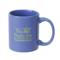 C-Handle Color Ceramic Mug 11 oz