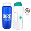 Antimicrobial Water Bottle w Flip Top - 32oz