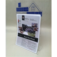 Indoor Acrylic Real Estate Brochure Holder