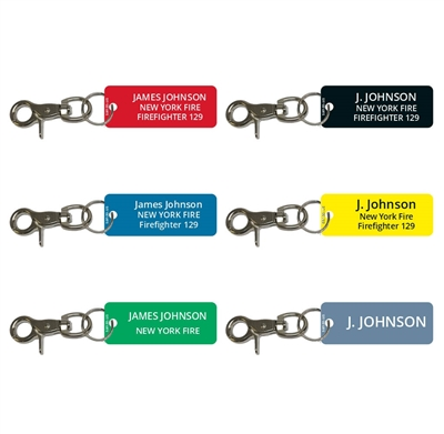 Firefighter Accountability Tags